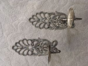 Silver candle sconces for Sale in Westlake, OH