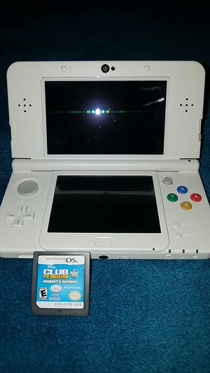Nintendo 3D S white Mario limited edition...i ALSO HAVE A BLACK NINTENDO 3D S for Sale in Columbus, OH