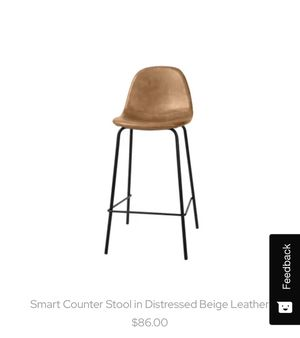 Counter Stools Distressed Beige Brand New for Sale in Virginia Beach, VA