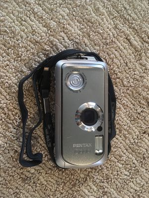 Pentax Optio Waterproof 5.0 megapixels digital camera for Sale in Buffalo, NY