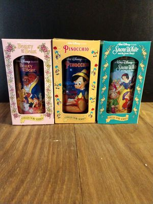 Disney Collectable glasses for Sale in North Fairfield, OH