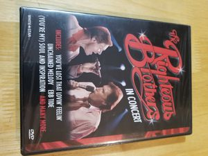 The Righteous Brothers In Concert DVD NEW SEALED for Sale in Ontario, CA