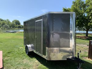 2019 7x12 Mirage Toy hauler Camper Fully Insulated for Sale in Battle Ground, WA