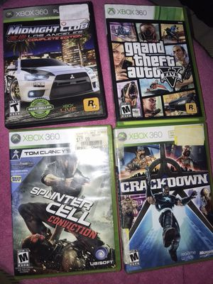 3 Xbox 360 Games left! for Sale in NEW CARROLLTN, MD