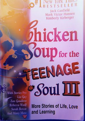 #1 NEW YORK times bestseller ( Chicken Soup for the Teenage soul III ) for Sale in Rockville, MD