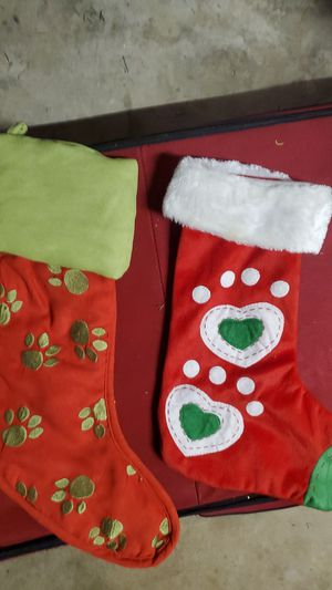 Pet stockings for Sale in Montclair, CA