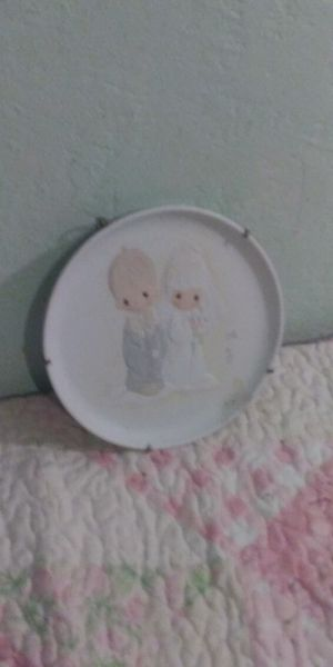 Precious moments collectible plate for Sale in Fresno, CA