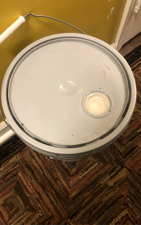 5 gallons of Soft Grey Paint
