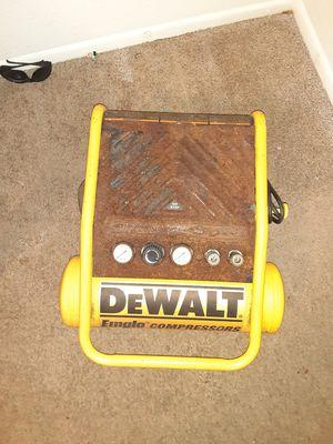 Dewalt Emglo Compressor for Sale in Houston, TX