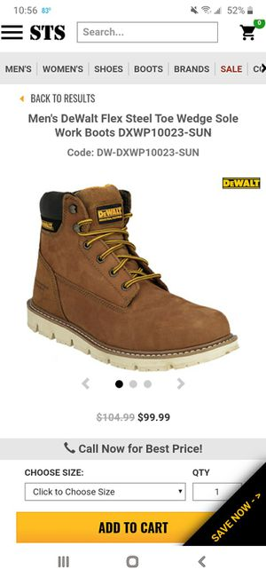 Work Boots size 8M for Sale in Hialeah, FL