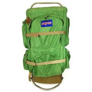 Vintage JanSport Backpack External Frame Pack Hiking Camping Travel Outdoor for Sale in Phillipsburg, NJ