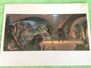 """Return of the Jedi 1983 print (11"""" x 15.5"""") for Sale in Coppell, TX"""