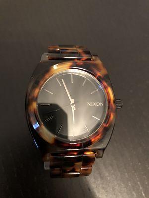 Nixon Acetate Watch Tortoise Bracelet A327-646 for Sale in Ashburn, VA