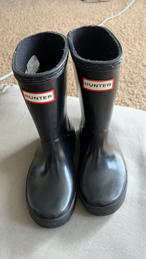 Hunter rain boots: size 8 for Sale in Silver Spring, MD