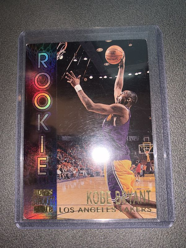 Kobe Bryant Rookie Card !!!!! 1996/97 Topps Stadium Club Rookie # R9