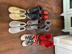 Girls shoes size 3 Ugg Steve Madden vans converse for Sale in Bonney Lake, WA