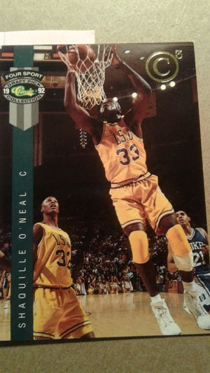 Shaquille O' Neal Basketball Card for Sale in Orlando, FL