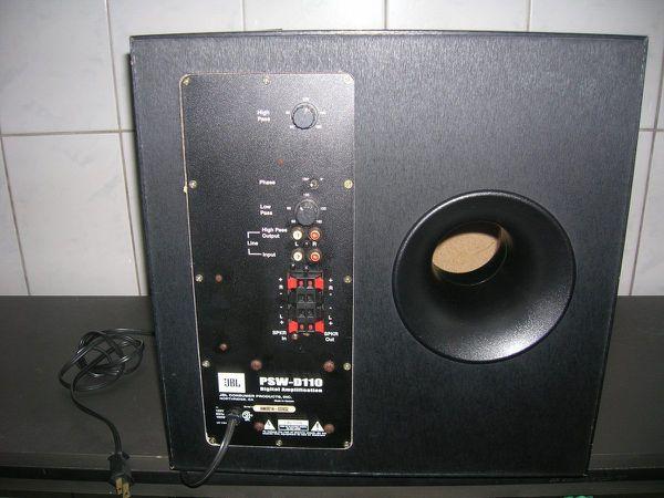 JBL 12 powered sub with built in 250 watt amp