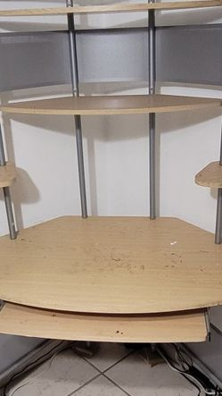 Corner Desk with shelves for Sale in Downey,  CA