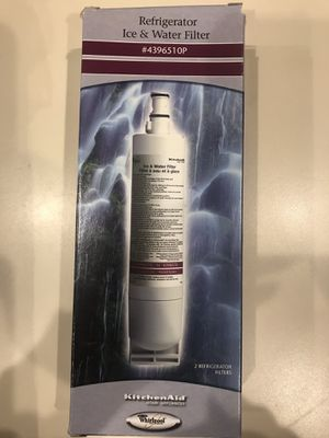 KitchenAid / Whirlpool Refrigerator Water Filter #4396510P for Sale in Sterling, VA