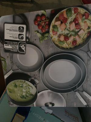 GreenPan Paris Pro 11pc Ceramic Non-Stick Cookware Set for Sale in Perris, CA