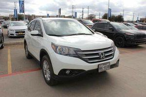 2014 Honda CRV EX-L Navi for Sale in San Antonio, TX