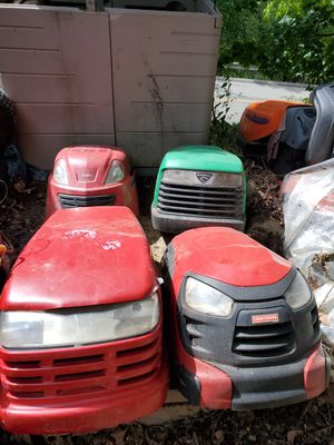 Hoods for lawn tractor for Sale in Pittsburgh, PA
