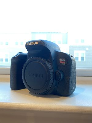Canon T7i With 55-250mm Canon Lens for Sale in Stone Ridge, VA