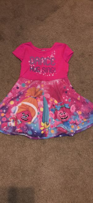 Size 3T Trolls dress for Sale in Columbus, OH