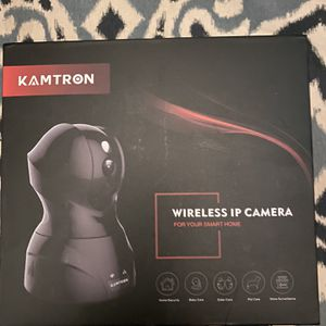 Kamtron Indoor Security WiFi HD Camera for Sale in San Diego, CA
