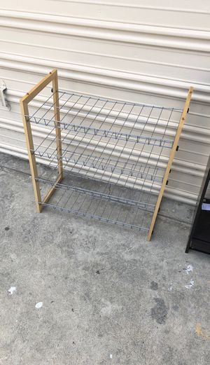 Shoe rack and mini shelves for Sale in Paramount, CA