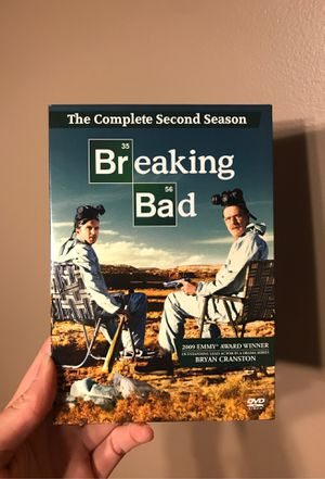 Breaking Bad DvD complete SEASON 2 for Sale in Griffith, IN