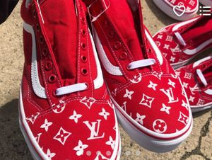 Louis Vuitton / Supreme Exclusive Vans!!! for Sale in Bronx, NY