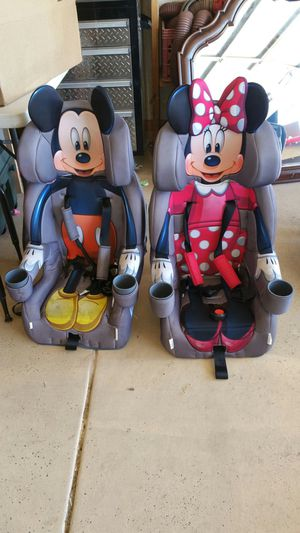 Car seat mickey only for Sale in Yuma, AZ