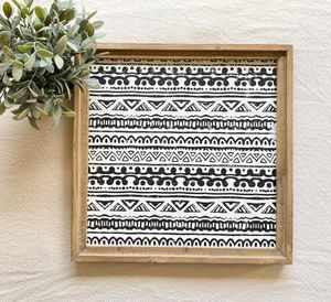 Wooden Aztec print for Sale in Puyallup, WA