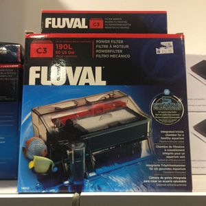 Fluval C3 Aquarium Fish Tank Filter - Brand New Sealed in Box for Sale in New York, NY