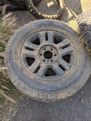 """18"""" F150 rims and tires for Sale in San Diego, CA"""
