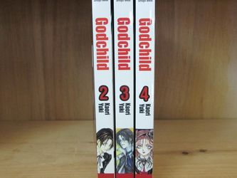 Godchild manga volumes 2, 3, 4 for Sale in Seattle,  WA
