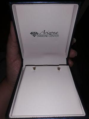 Little diamond earrings for Sale in Phoenix, AZ