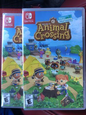 Animal Crossing New Horrizons Nintendo Switch for Sale in Santa Fe Springs, CA