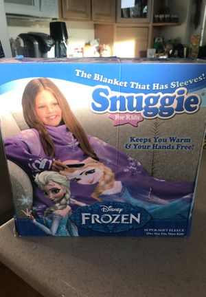 Disney Frozen Snuggie for kids for Sale in Fountain Hills, AZ