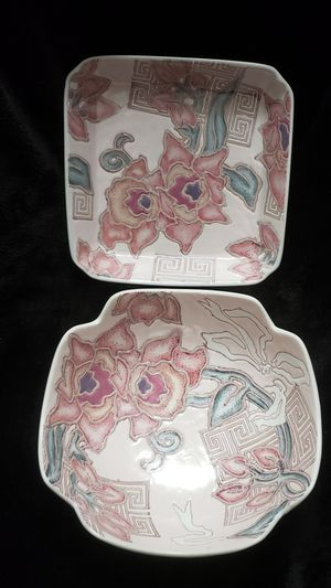 Vintage Terri Roese Toyo Cymbaline Cameo Bowls Set for Sale in Milton, FL