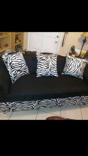Couch and two light for Sale in Hollywood, FL