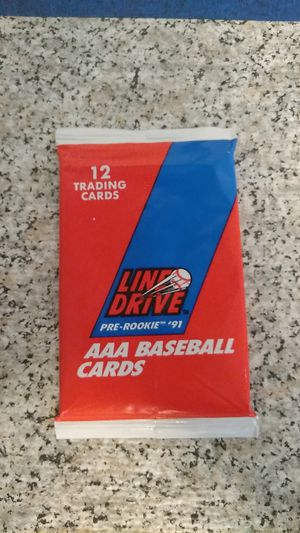 Line drive AAA Baseball exclusive 1991 12 card pack for Sale in Draper, UT