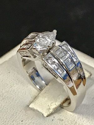 White gold marquise engagement ring for Sale in Riverview, MI