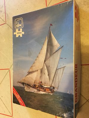 Grandeur Tall Ship 1000 piece puzzle Apc for Sale in Gaithersburg, MD