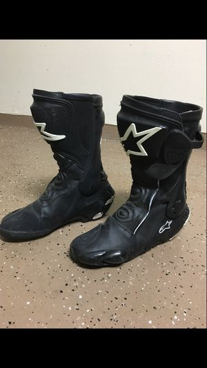 Alpine Star motorcycle boots for sale $125 for Sale in Riverside, CA