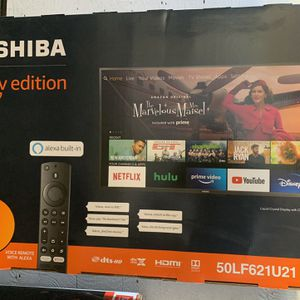 "50"" Toshiba Firetv Smart Tv 4k Ultra for Sale in Lynwood, CA"
