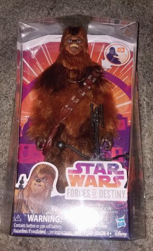 Brand new Star Wars Forces of Destiny 'Chewbacca' for Sale in Alhambra, CA