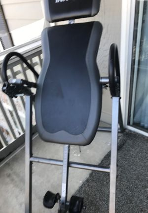 Gravity Inversion Therapy Table Chair Exercise System Machine Fitness Back Pain for Sale in Nashville, TN